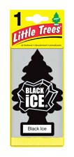 1 Pack BLACK ICE Little Trees Hanging Car Home Office Air Freshener U1P-10155