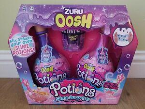 Zuru Oosh Potions Slime Surprise Galaxy Goo Box Set. Brand New