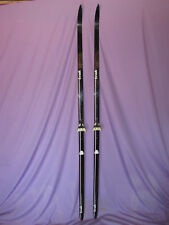 Trak Competition Carbon Fiber cross counntry skis 195cm w/ Dovre 3-Pin bindings~