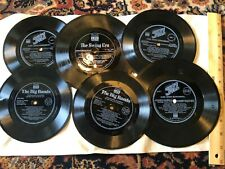 6 Time Life Records The Swing Era / Jazz/  Big Band 33 1/3 Demonstration Record