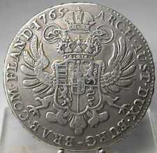 Kronentaler 1765, Brüssel, Maria Theresia, Silber