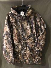 Men's True Timber Camo Heavyweight Hoodie Sweatshirt Large L Hunting Waterproof