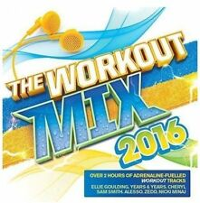 THE WORKOUT MIX 2016 (BRAND NEW DOUBLE CD)