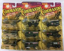 Lot of 31 Matchbox Commando vehicles. 2 sets : Strike Team and Dagger Force.1988
