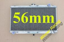 56MM Aluminum Alloy Radiator fit Mazda MX5/Miata 1.8L MT 1999-2005 high perf
