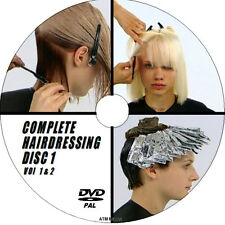 EASY TO FOLLOW HAIRDRESSING EXPERT LESSONS FOR BEGINNERS CUT STYLES 2 DVD NEW