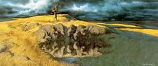 """Calling the Buffalo"" Bev Doolittle Signed Limited Edition Lithograph (Framed)"