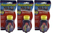 Aquachek Red Pool Spa Bromine 50 Test Strips *3 pack*
