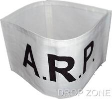 WWII British Civil Defence Arm Band - Arp Air RAID Precautions White Repro