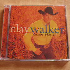 Clay Walker : Rumor Has It (US Import 10-track Country CD, VG Disc, New Case)