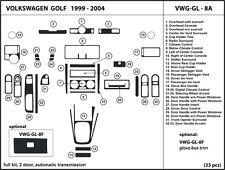 Volkswagen Golf 1999-2004 Real Carbon Fiber Dash Kit Trim  VGW-GL-8A