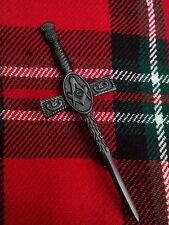 """TC Masonic Kilt Pin Jet Black Finish 4.5""""/Scottish Kilt Pin Masonic Jet Black"""