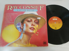 """RAY CONNIFF LATIN HITS CBS 1977 SPAIN EDITION - LP VINILO 12"""" VG/VG"""