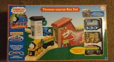 Wooden Thomas Saurus Rex Dinosaur Train Set Features Stepney, Thomas And Friends