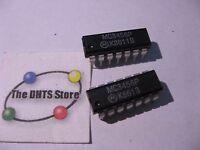 MC3546P Motorola Dual Timer IC Plastic Package MC3456  - NOS Qty 2
