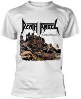 DEATH ANGEL The Ultra-Violence WHITE T-SHIRT OFFICIAL MERCHANDISE