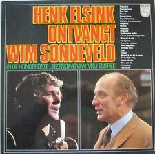 HENK ELSINK - HENK ELSINK ONVANGT WIM SONNEVELD  - LP