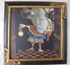 James Christensen Tempus Fugit #289 Limited Giclee Canvas framed Time Flies Fish
