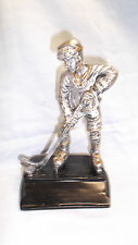 male HOCKEY  trophy statue resin award TRE100 black base