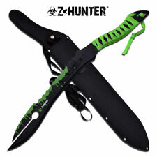 NEW! ZHunter Zombie Alien Style Fantasy Blade Machete Sword Sawback Dead Walking