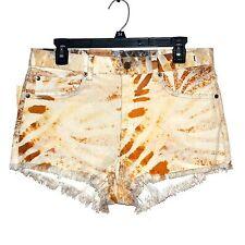 "New $70 Womens Size 10 W30 DENIM & SUPPLY Ralph Lauren 2"" Jean Shorts High-Rise"