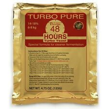 1 Prestige Turbo Pure 48h; 18% Alkohol/5 Tage; Turbohefe Trockenhefe Brennhefe