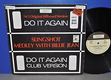 "Do it again Slingshot Medley with Billie Jean special DJ Edition 12"" Maxi Vinyl"