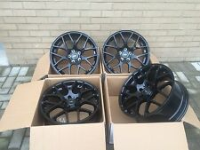 "DTM 17"" Black Alloy Wheels Only 5x108 7.5X17 Ford Transit CONNECT 5X108"