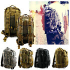 Vintage Mens Canvas Backpack Camping Travel Hiking Bag Sports Rucksack Schoolbag