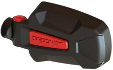 "Pursuit Elite Aluminum Side Mirrors Red 1.75"" RZR Ranger Rhino YXZ Wildcat X3"