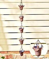 New listing Decorative Iron Bird Rain Chain