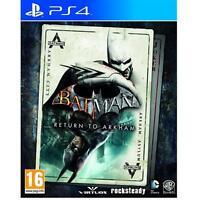 Batman Return to Arkham (PS4) inc Arkham Asylum & Arkham City New and Sealed