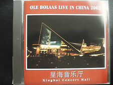 OLE  BOLAAS  -  LIVE IN CHINA 2002 ,  CD 2002, EDVARD GRIEG, TONY BANKS,   PIANO