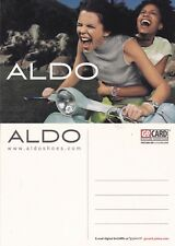 ALDO SHOES UNUSED ADVERTISING COLOUR  POSTCARD (e)