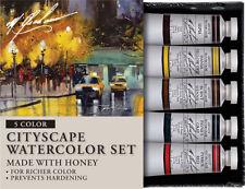 M Graham Artist Watercolour Paint - Cityscape Set of 5 - 15ml Tubes