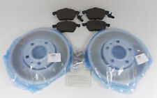 NEW GENUINE AUDI A4 B6 B7 FRONT 288MM BRAKE DISCS + PADS SET - PR 1LB