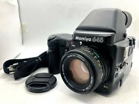 【NEAR MINT】 MAMIYA 645 Pro + AE Finder + SEKOR C 80mm f2.8 N +120Back from JAPAN