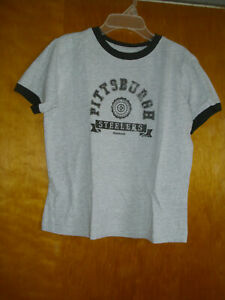 Reebok Pittsburgh Steelers Womens Shirt Top Size L