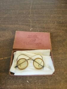 """Vintage SOCIETY DOLLY SPECS DOLL EYEGLASSES SPECTACLES 18"""" Scale possibly others"""