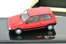 MODELLINO AUTO FIAT UNO 1 TURBO IE IXO SCALA 1/43 DIECAST CAR MODEL MINIATURE