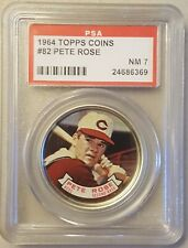 1964 Topps coins #82 Pete Rose - PSA 7