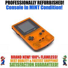 *NEW GLASS SCREEN* Nintendo Game Boy Color GBC Custom Daiei Hawks System MINT