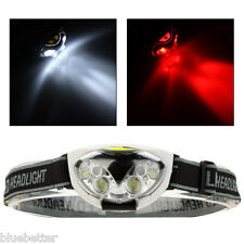 Hot 1200 Lm 6 LED Lights 3 Modes Headlight Headlamp flashlight head light lamp