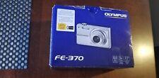 Olympus FE-370 8.0 MP Digital Camera - silver