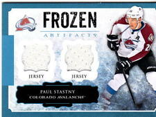 NHL TRADING CARDS --- JERSEY CARD --- Peter Stastny --- Colorado Avalanche