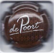 """Capsule de champagne Janisson-Baradon """"Restaurant De Poort"""" N°51a"""
