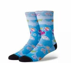 Stance La Iguana Ankle Biters Kids Crew Socks Combed Cotton Crew Height New Tags