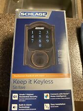 Schlage BE469NX-CAM Connect Camelot Touchscreen Electronic - Bronze