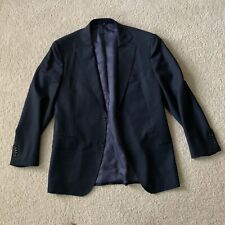 Suit Supply Napoli Navy Blue Suit Jacket Blazer Mens Size 42R EUR 52 Wool