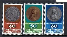 Liechtenstein Gomma integra, non linguellato monete da 1978 sg707-709